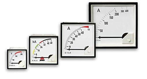 فروش انواع ولت متر و آمپرمتر و میلی آمپرمتر