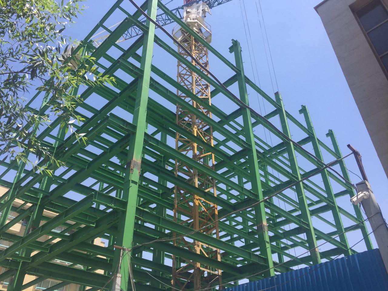 ساخت سازه های فولادی