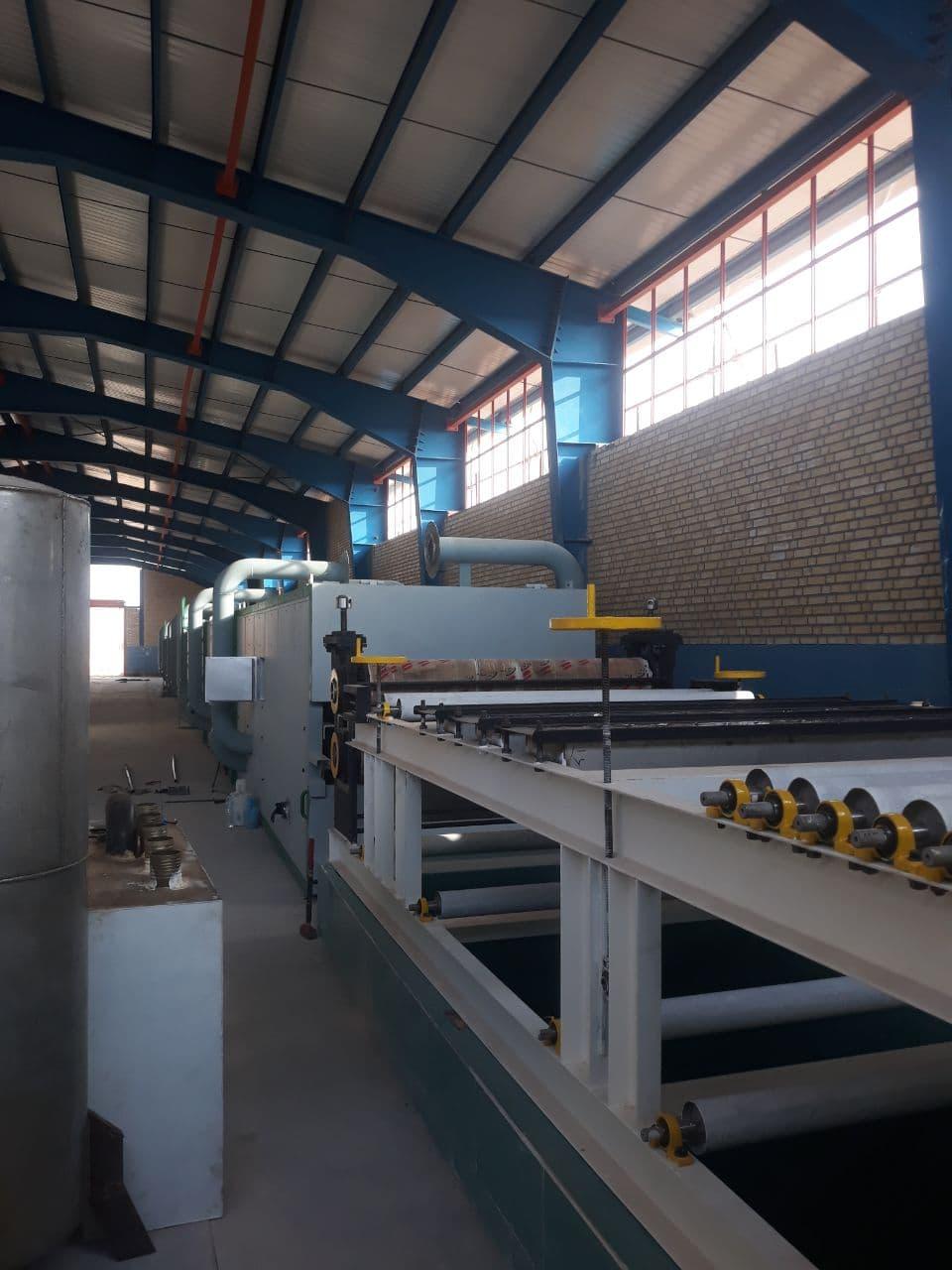 خط تولید خمیر کاغذ فلاف پالپ