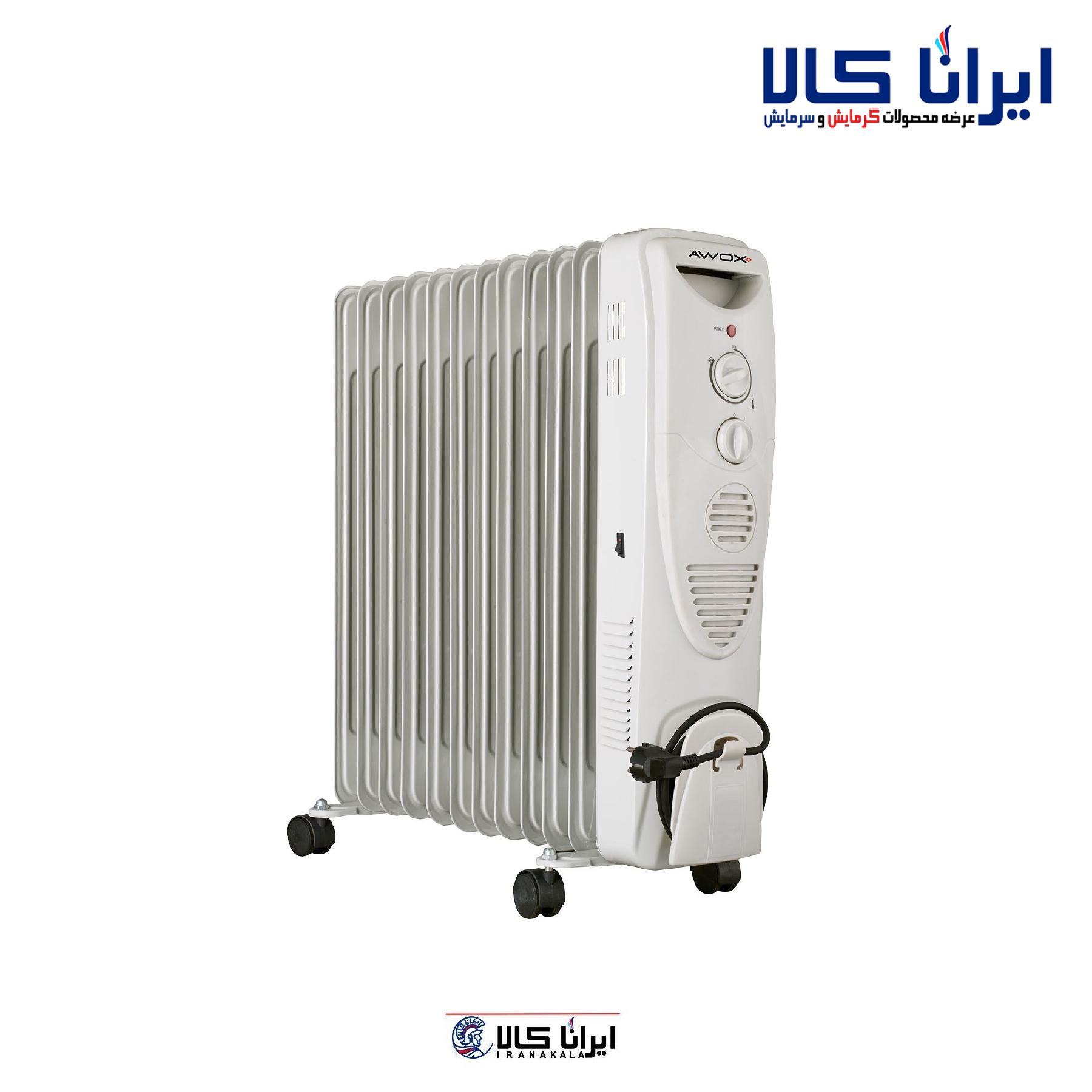 رادیاتور برقی Awox | رادیاتور 11 پره
