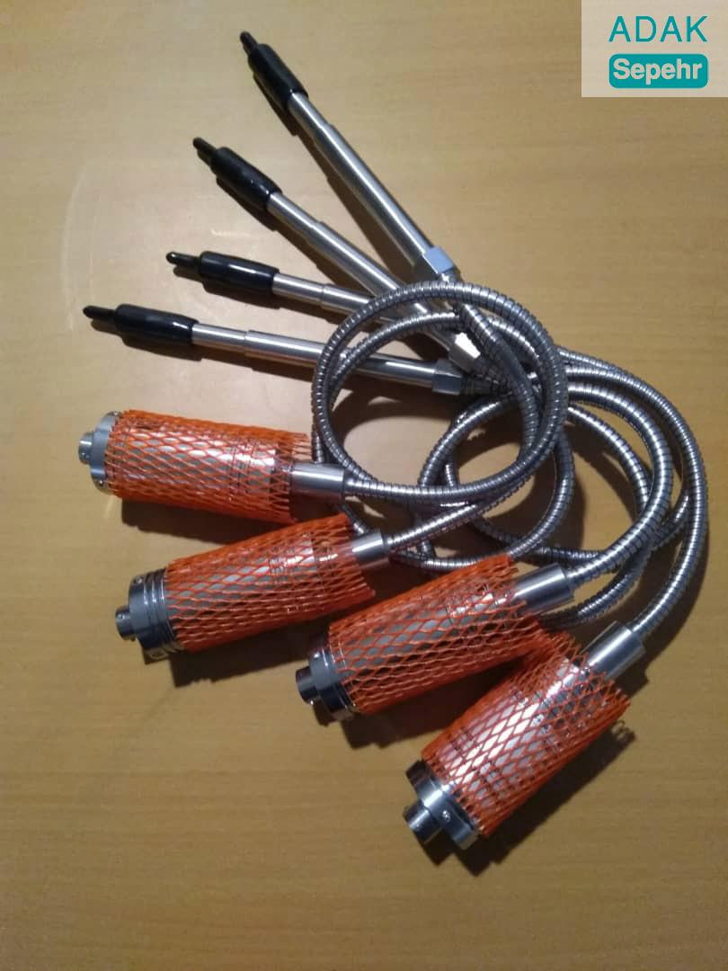 سنسور فشار مذاب اتک با ترموکوپل سری Mpts ۱۳۳