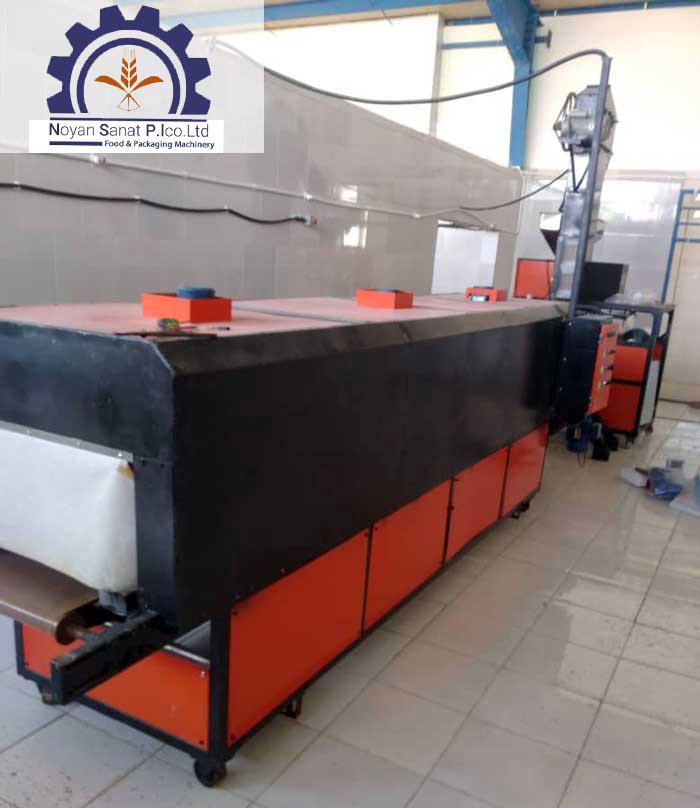 ساخت و تولید دستگاه خشک کن کانتینیوس جهت خشک کردن حجم انبوه مواد غذایی