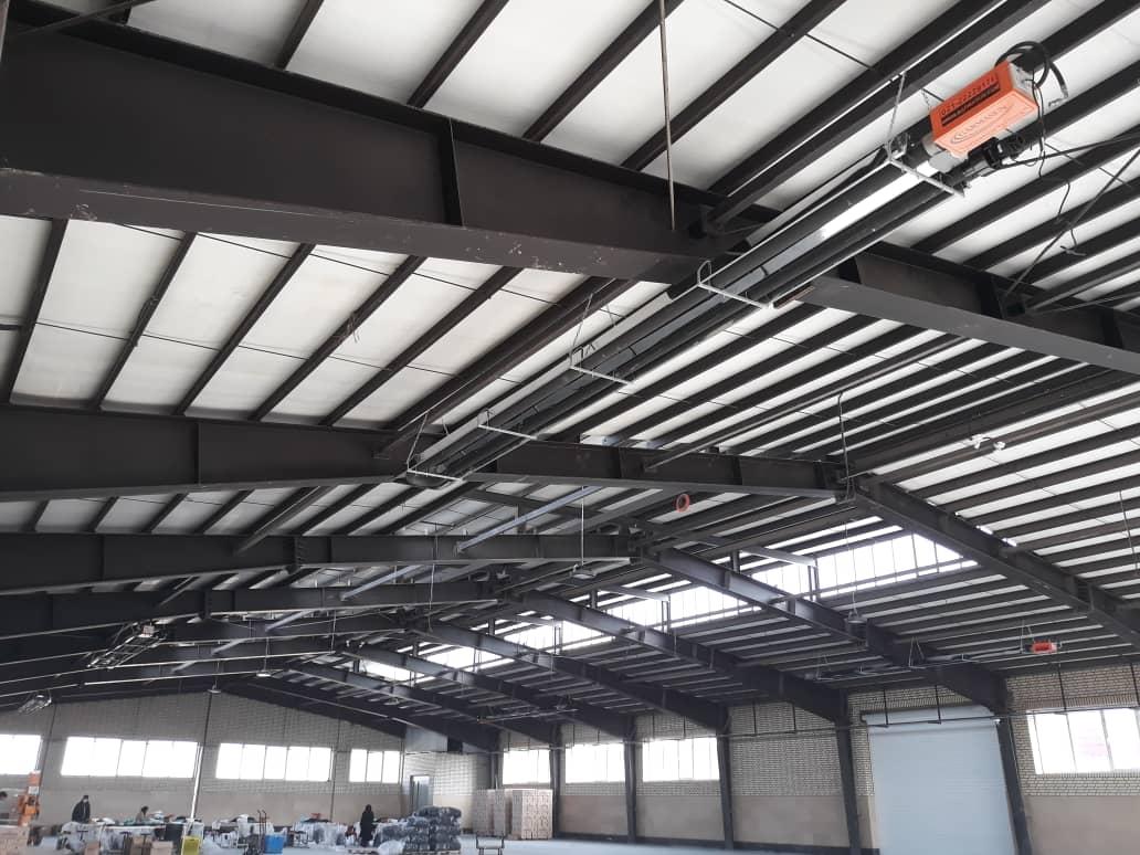گرمایش از سقف کارخانه