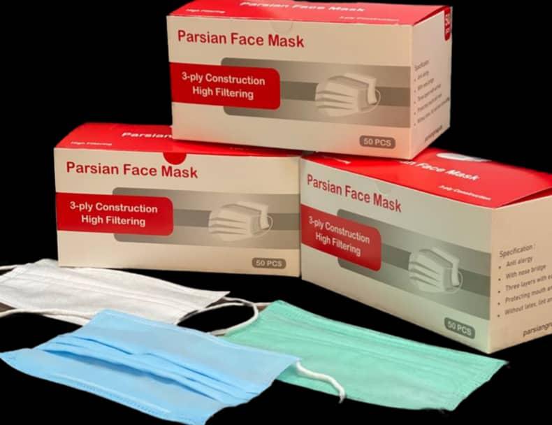 ماسک ۳ لایه پرستاری