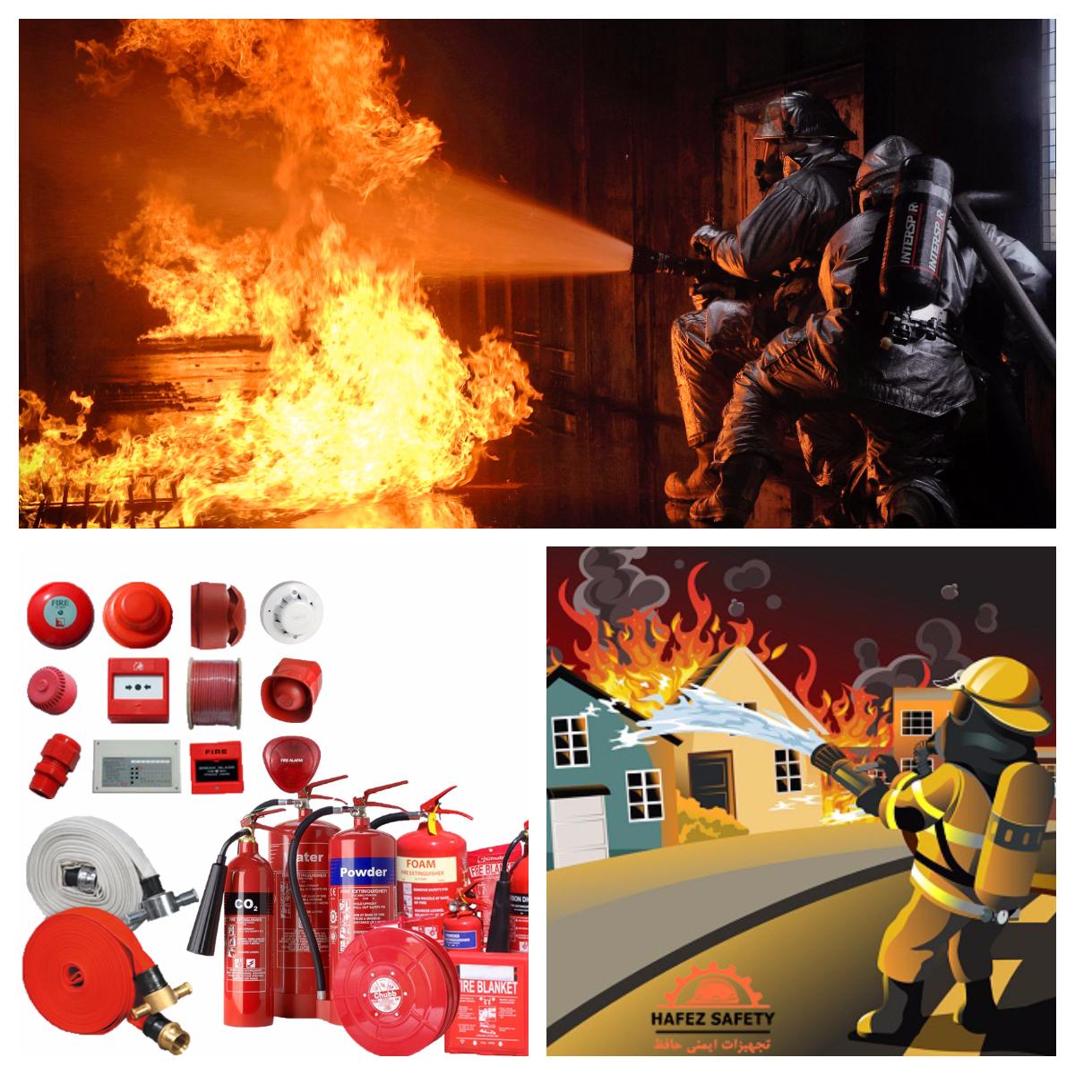 فروش و شارژ انواع کپسول آتش نشانی