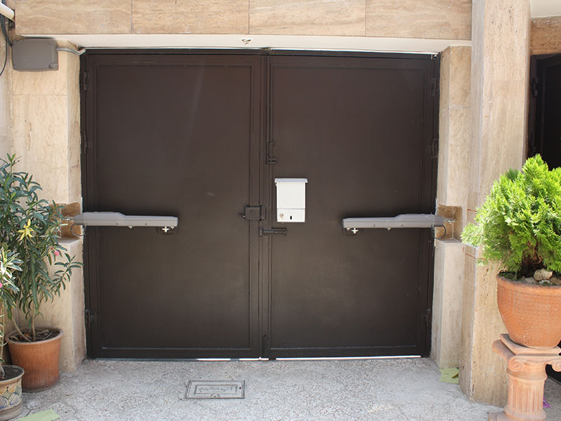 درب لولایی(برقی) اتوماتیک