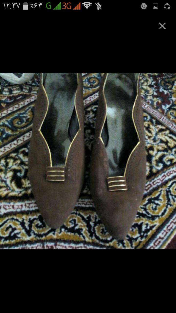 کفش زنانه مجلسی در حد نو