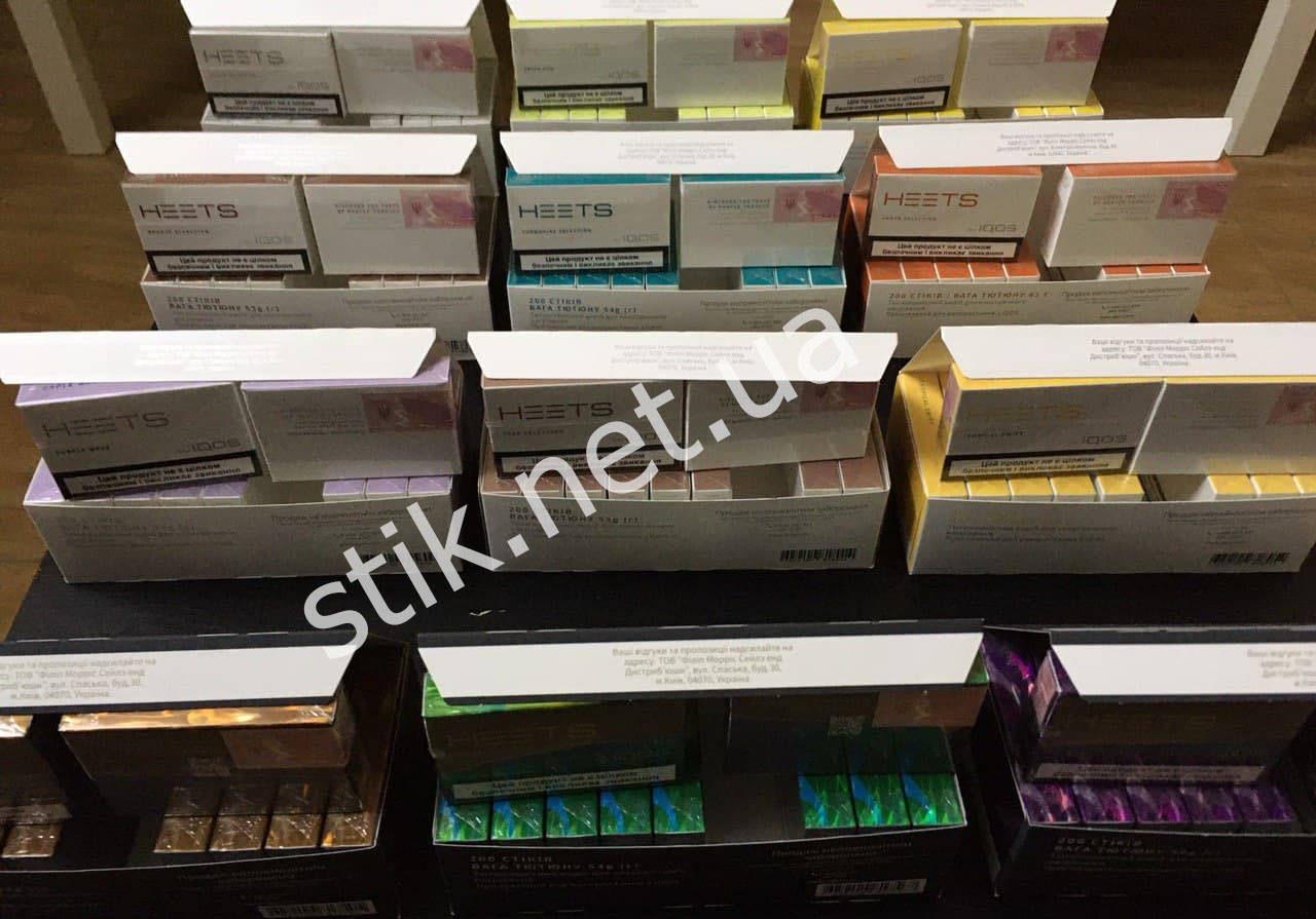 فروش میله های تنباکو Heets.