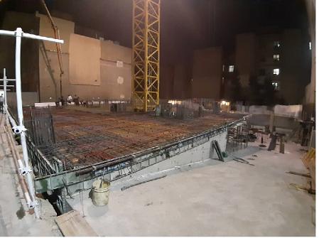 اجرای سازه های بتنی اجرای فونداسیون اسکلت بتنی دال بتنی سقف وافل سقف پیش تنیده