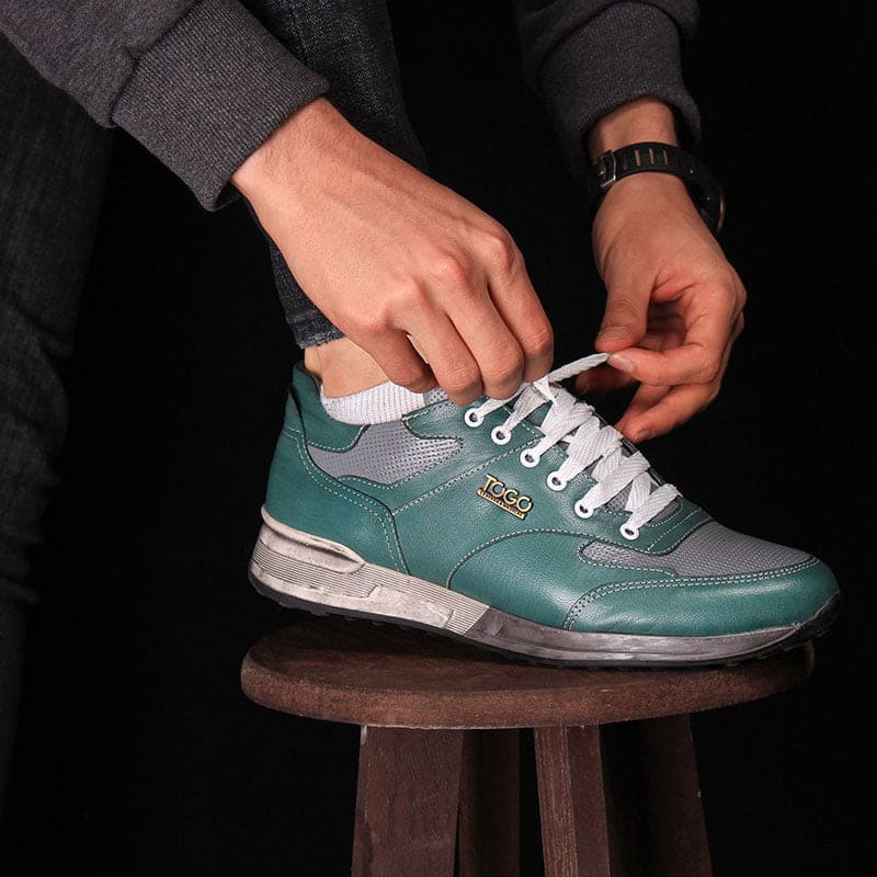 فروش سراسری کفش اسپورت با چرم طبیعی