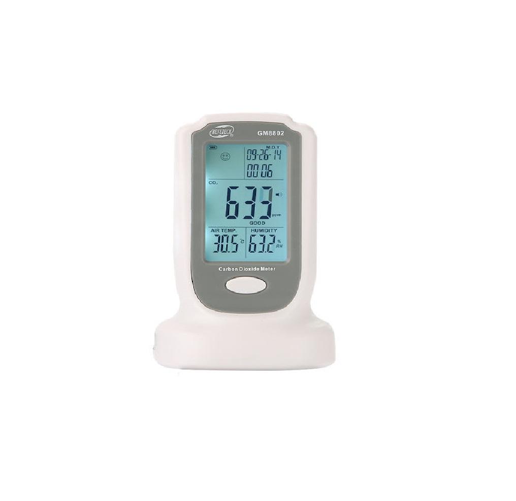دستگاه سنجش میزان دی اکسید کربن دیجیتال Gm8802