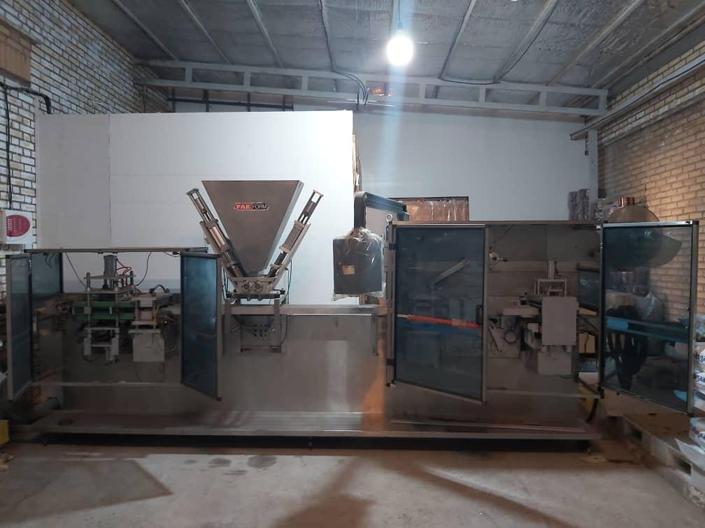 دستگاه فرمفیل سیل، ساخت پک فرم ترکیه ۲۰۰۱ L7.